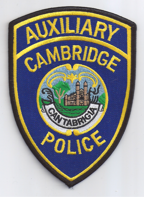 Cambridge Police patches - Cambridge Police History